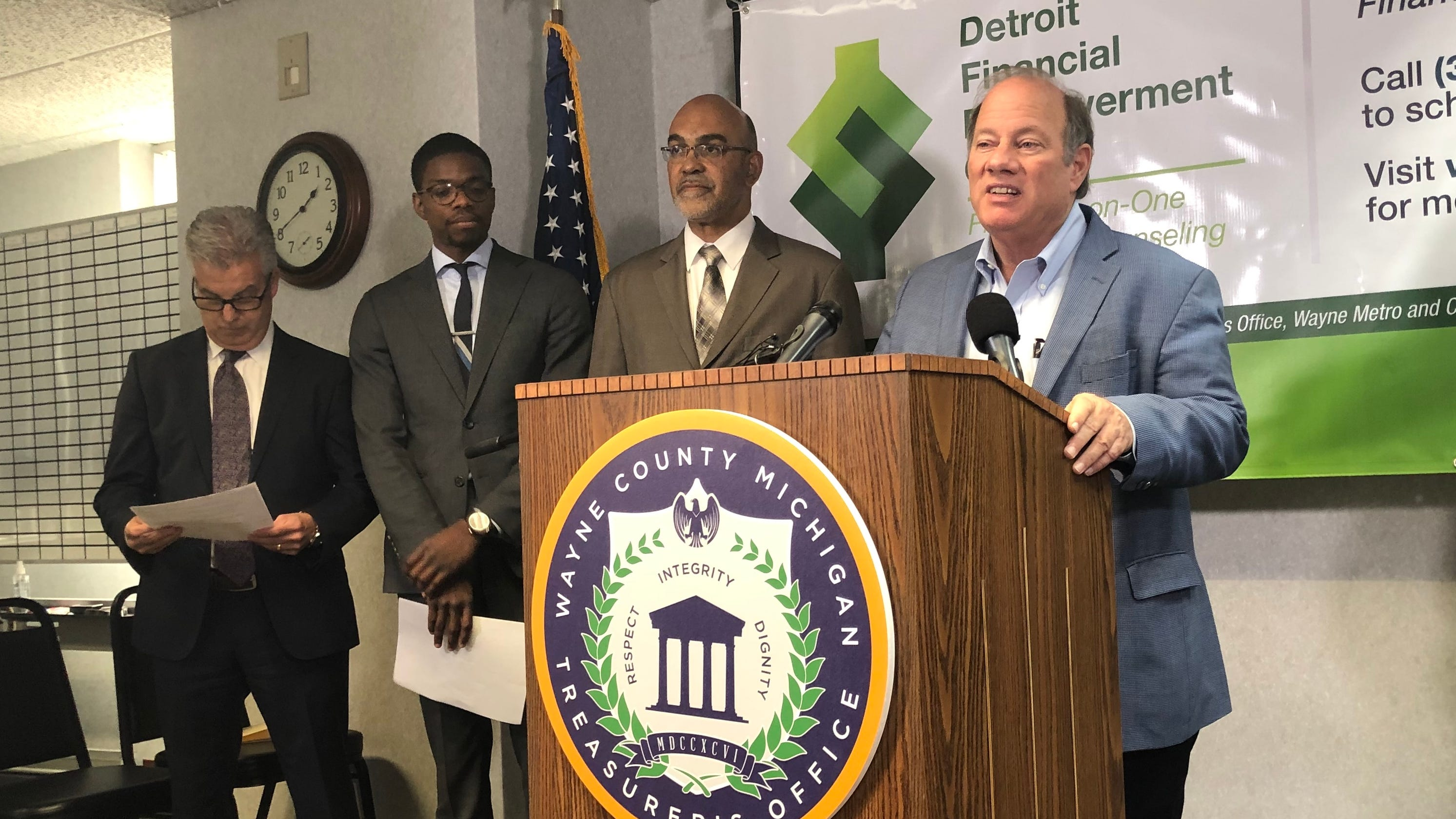 Low-income Detroiters offered free financial counseling