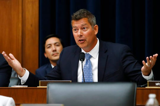 Rep. Sean  Duffy, who represents northern Wisconsin in Congress, is resigning in September 2019. Duffy posted on his Facebook page Monday that he was resigning on Sept. 23 to spend more time with his family.