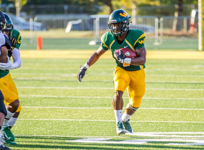 Injuries limited running back Deiontae Nicholas to 89 yards on seven carries last season.