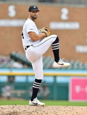 Tigers pitcher Daniel Norris has tossed three shutout innings in each of his past two outings.