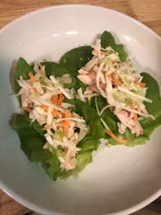 Pulled-Chicken Lettuce Wraps from chef Allie Lyttle of the Standard Bistro and Larder.