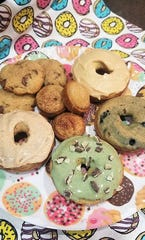 Baked doughnuts, cookies and mini muffins are on the menu at K Love's Guilt Free Sweet Treats.