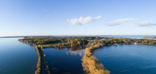 Put-in-Bay Township Park District and The Conservation Fund announced the conservation Monday of 4.4 acres of critical migratory bird habitat on Ohio's Lake Erie Islands.
