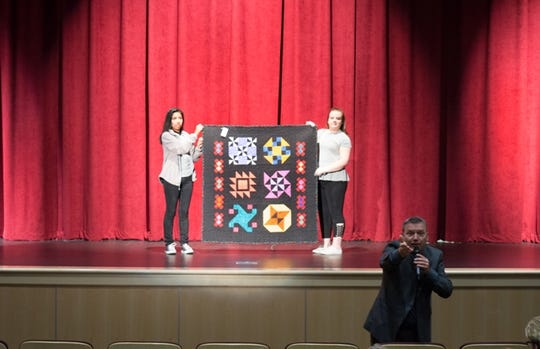 Flat Rock Homes Quilt Auction and Fundraiser will be held at Strongville, Ohio.