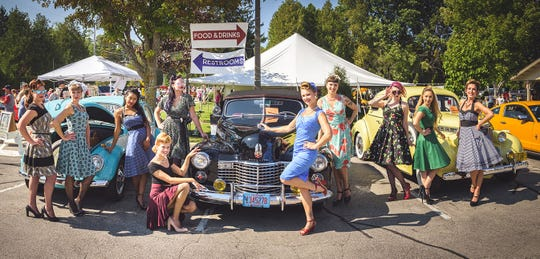 Classic cars and classic models can be seen in Baileys Harbor during its Autumnfest and Pin Ups & Pistons car show and photo shoot Sept. 28.