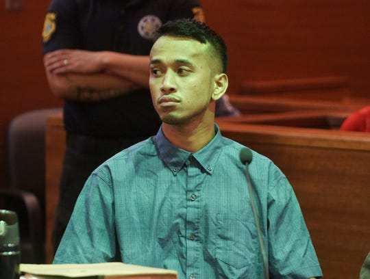 Jordan Rachulap, one of the brothers convicted in the June 2019 Mangilao machete attack, was granted a conditional furlough after the judge sentenced him to spend the next 12 years in prison. Media Pool.