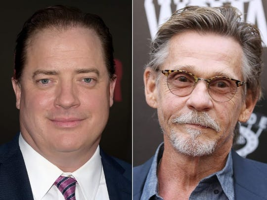 Actors Brendan Fraser, left, and Dennis Christopher will attend this year's Heartland Film Festival.