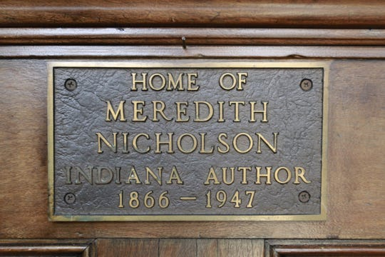 Meredith Nicholson wrote a book in the home that now houses Indiana Humanities.