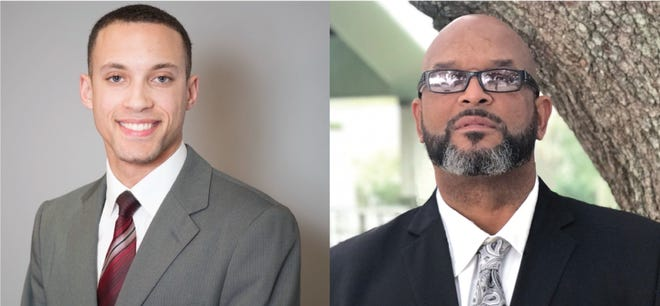 """James Thomas, left, and Abraham """"AB"""" Rubin, right, are both running to represent District 5 on the new Lafayette Parish Council this fall."""