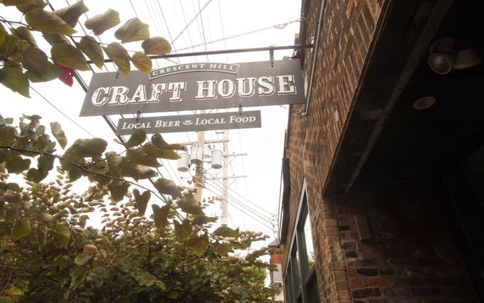 The Crescent Hill Craft House, on Frankfort Ave. in Louisville, is an exposed-brick gastropub that serves comfort food, bourbons and beer.