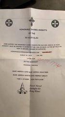 KKK Kookout Flier