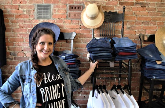 Erica Jury is the owner of Brave Woman Boutique, a specialty clothing shop for women in downtown Marion. The store is located at 143 E. Center St. Follow Brave Woman Boutique on Facebook.