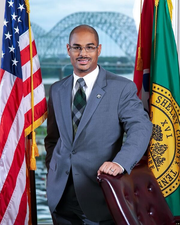 Shelby County Commissioner Edmund Ford, Jr.
