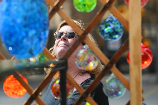 Juried work by scores of artists will be available for gazing at (and even buying) during the eighth annual Third Ward Art Festival Saturday and Sunday on North Broadway.
