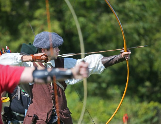Archers will be among those taking aim this weekend at the Wisconsin Highland Games at the Waukesha Expo Center in Waukesha.