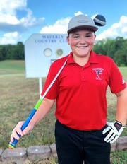 Fairview Middle's Taylor Hughes posted the top score of the day on August 19, 2019 at Waverly Country Club.