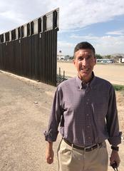 Rep. David Kustoff at the border