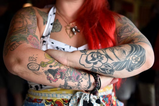 Missy Addison is chef/owner of Missy's Main Street Cafe in Rockaway. Addison's favorite tattoo is of her dog, Noopy.