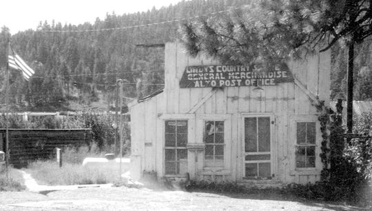 The Alto Post Office doubled as a store.