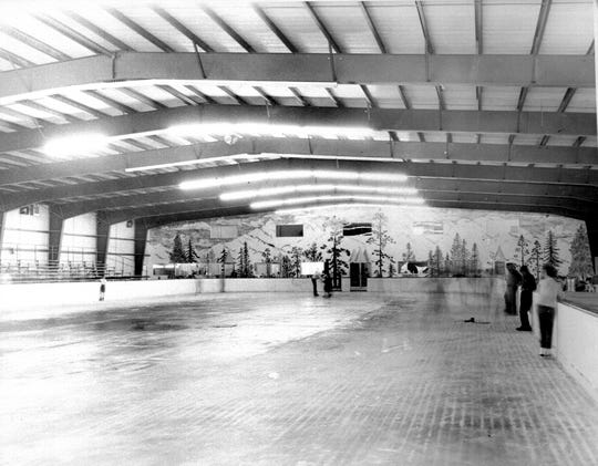 An ice rink was a major attraction at Chapparal in the 1950s in the area now home to the Hubbard Museum of the American West in Ruidoso Downs.