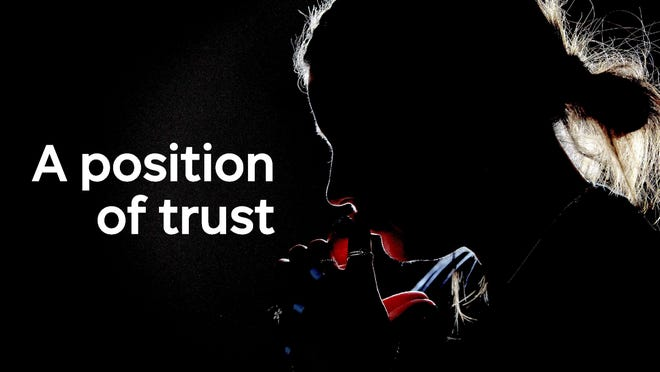 a position of trust silhouette