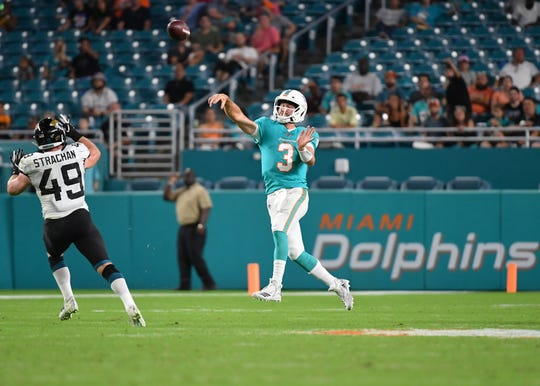 Will Josh Rosen be the Miami Dolphins' starting quarterback?