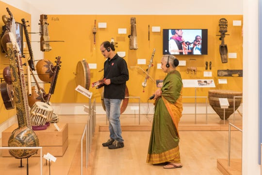 Musical Instrument Museum's Experience India event spotlights some of the instruments on display inside of the museum.