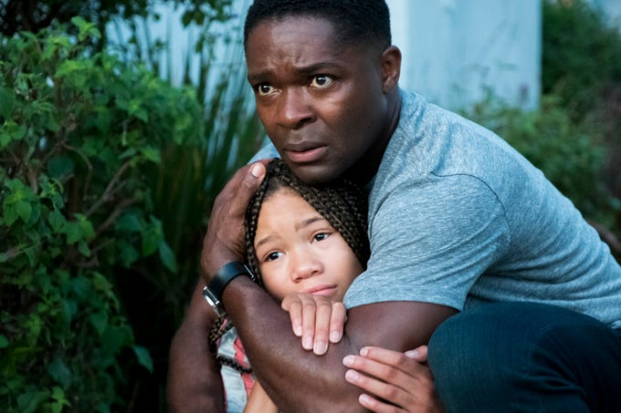"David Oyelowo and Storm Reid star in ""Don't Let Go."""