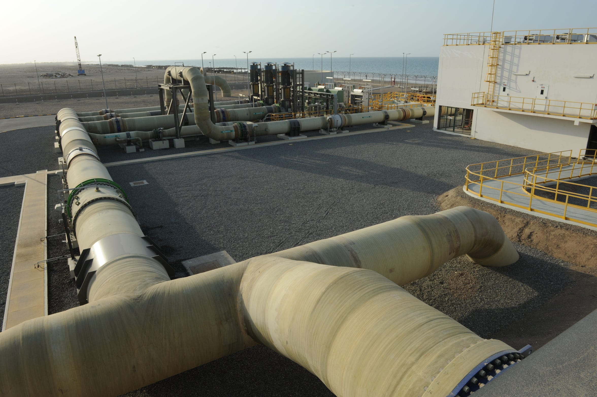 The Barka 4 desalination plant is Oman's newest and largest.