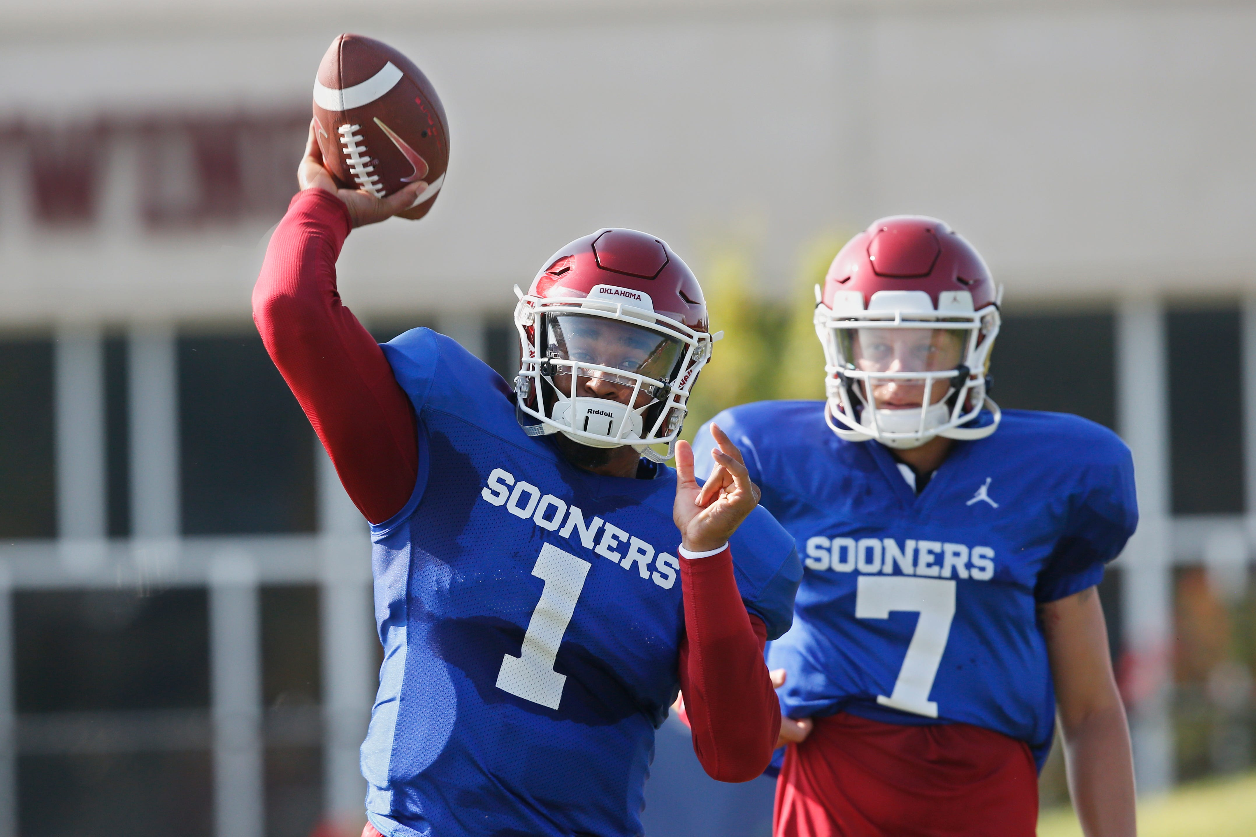 Spencer Rattler Tanner Mordecai Give Oklahoma Football Bright Future