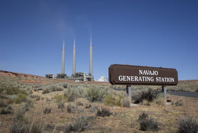 The Navajo Generating Station on Aug. 20, 2019, near Page, Arizona.