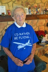 Dottie Patrick, a pilot who served stateside during World War II, shared her passion for flying as a longtime instructor at Erie Ottawa International Airport.