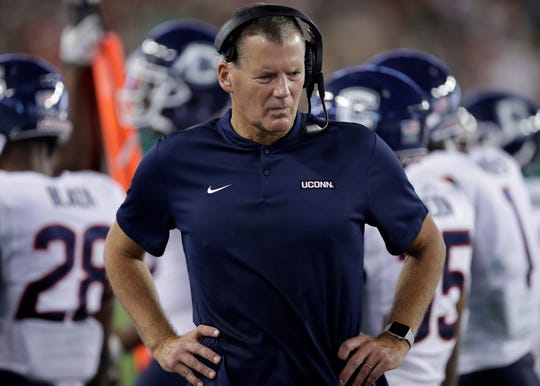 Susquehannock High School graduate Randy Edsall is entering his third season in his second stint as the UConn head football coach. The Huskies are coming off a 1-11 season.