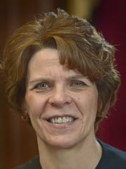"Franklin County President Judge Carol L. Van Horn is seen in this file photo from March 23, 2016. She was the supervising judge for the investigative grand jury. Van Horn ordered that the full grand jury report be released. ""Here we have an admission from the unindicted person who is protected by the statute of limitations from criminal prosecution after he was afforded all the protections of due process,"" Van Horn wrote in a 19-page opinion."