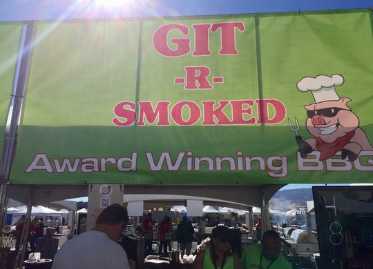 GIT-R-SMOKED barbecue from Fernley is participating for the first time in 2019 in the Best in the West Nugget Rib Cook-off in Sparks.