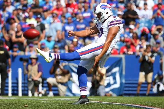 For now, Corey Bojorquez is the lone punter on the Bills' roster.