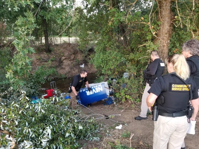 Numerous people were arrested over the weekend when Anderson police and officers from several other agencies arrested people on suspicion of alleged illegal camping.