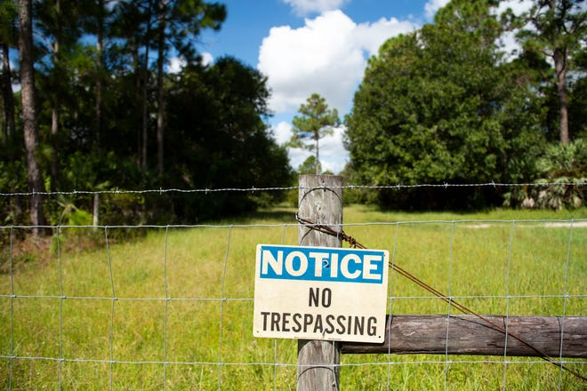 """A long time debate between land owners and the Palm City Farms Trail Association trail continues Monday, Aug. 26, 2019, in Martin County. On Tuesday, Martin County Commissioners will consider a law to open up all public right-of-ways in the county, a hot issue in Palm City Farms, where some landowners worry their properties will be affected by trail riders, if the county forces them to open up their land and allow the riders through. """"This is an asset for everybody. We just simply want the county to protect the assets,"""" said association organizer Ron Shewmaker."""