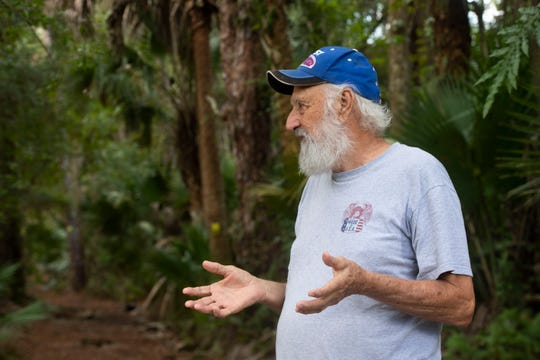 Ron Shewmaker, organizer of Palm City Farms Trails Association