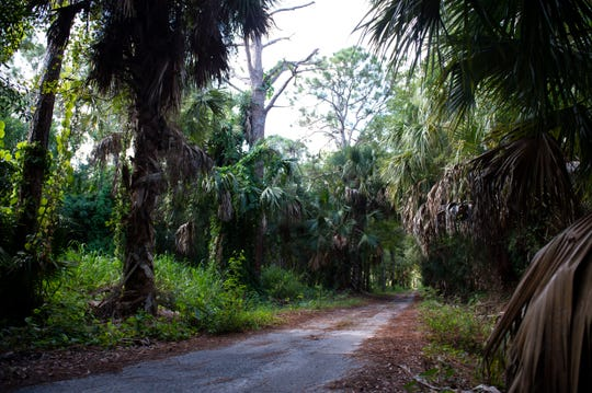 "A long time debate between land owners and the Palm City Farms Trail Association trail continues Monday, Aug. 26, 2019, in Martin County. On Tuesday, Martin County Commissioners will consider a law to open up all public right-of-ways in the county, a hot issue in Palm City Farms, where some landowners worry their properties will be affected by trail riders, if the county forces them to open up their land and allow the riders through. ""This is an asset for everybody. We just simply want the county to protect the assets,"" said association organizer Ron Shewmaker."