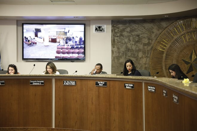 The El Paso City Council decided Monday, Aug. 26, 2019, to make a decision on calling a special election to replace city Rep. Cassandra Hernandez on Tuesday, Sept. 3, 2019.
