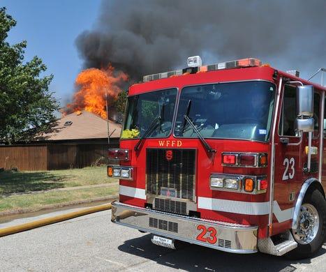 Wichita Falls Firefighters Battled Three Alarm Fire Near