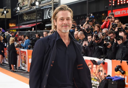 "Brad Pitt has earned raves playing aging stuntman Cliff Booth in ""Once Upon a Time In Hollywood."""