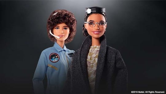 The Barbie Inspiring Women Series has two new additions. There's now Rosa Parks and Sally Ride Barbie dolls.