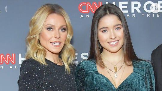 Entertainment news Kelly Ripa, Heed Conseulos drop daughter Lola off at New York University