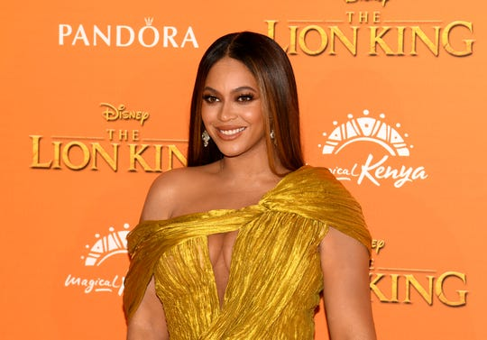 "Beyoncé voiced Nala in the new ""Lion King"" film opposite Donald Glover as Simba."