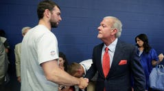 Andrew Luck and Jim Irsay