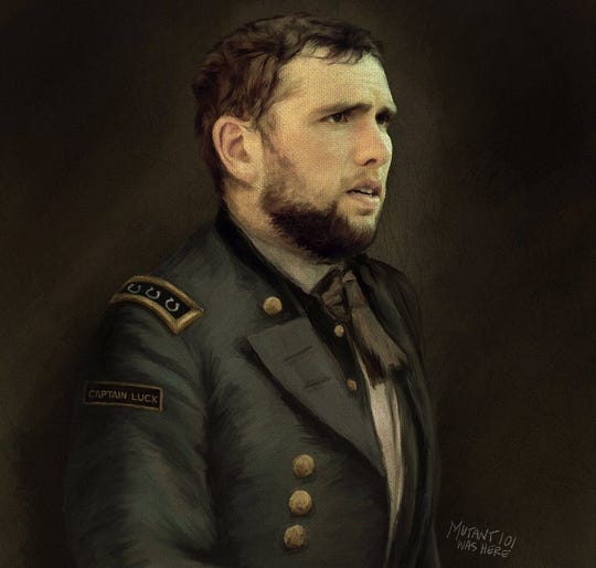 Capt. Andrew Luck reporting for duty.