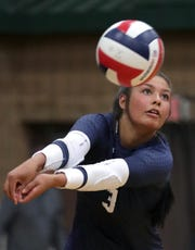 Jules Joosten is one of the top players returning for the Little Chute girls' volleyball team, one of the top teams in the Post-Crescent coverage area. USA TODAY NETWORK-Wisconsin/Wm. Glasheen