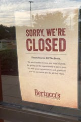 Bertucci's on Route 35 in Hazlet has closed.